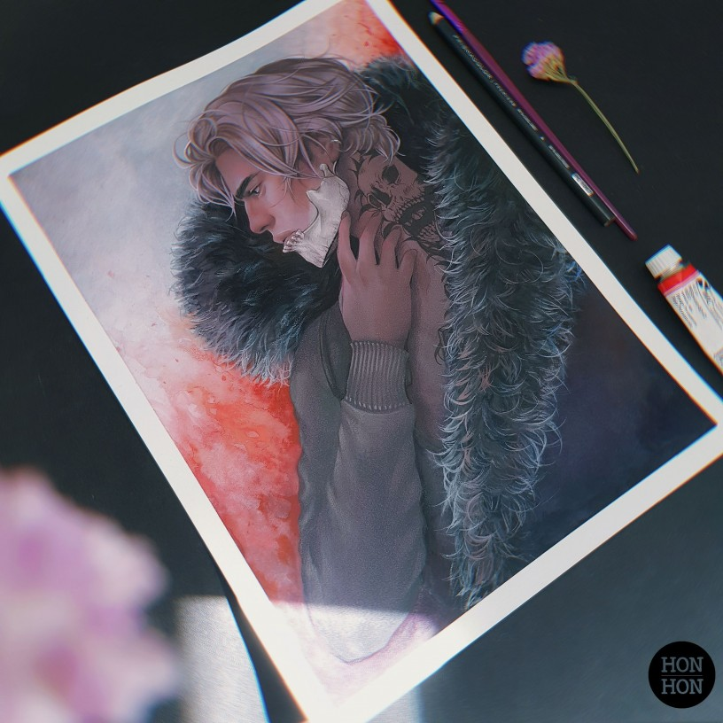 "Sketch Print Set ""Dreams"""